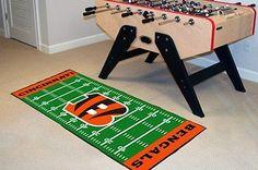 FanMats 7348 - NFL Baseball Runner Mat with Cincinnati Bengals Logo