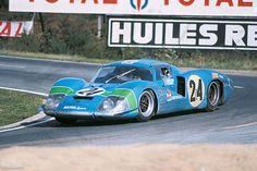 24 heures du Mans 1968 - Matra 630 #25 - Pilotes : Henri Pescarolo / Johnny Servoz-Gavin - Abandon                                                                                                                                                                                 Plus