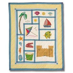 Celebrating Fun In The Sun With The Summer Fun Baby Quilt