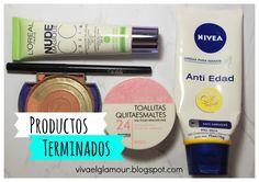 Viva el Glamour!: Productos terminados ¿los volveria a comprar?