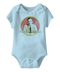 Love this Light Blue 'You Are Special' Bodysuit - Infant by Mister Rogers' Neighborhood on #zulily! #zulilyfinds