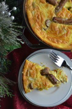 Breakfast Christmas Frittata made easy!