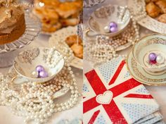 Royal Wedding tea party decor