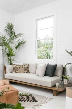 27 Sweet and Cozy Living Room Interior Ideas – – Sofa Design 2020 Diy Furniture Sofa, Diy Living Room Furniture, Cozy Living Rooms, Living Room Interior, Living Room Decor, Furniture Design, Furniture Ideas, Furniture Stores, Living Room Daybed