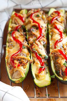 Salty Foods, Ravioli, Zucchini, Grilling, Food And Drink, Gluten Free, Vegetables, Cooking, Breakfast