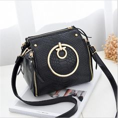 b4ffb90add 2017 Newest Design Bags for Women Elegant Office Ladies Party Fashion Handbags  Solid Color Wine Red Green Yellow Crossbody Totes
