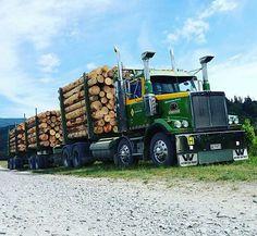 ♥♥♥Western Star custom twin steer loaded with logs