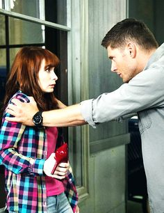 "Dean, what are you doing to Charlie? 9x04 ""Slumber Party"" #Supernatural"
