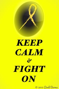 With the help of Google I found a ribbon. I have been unsuccessful in finding this saying in 'yellow' so I made this myself for my 'HERO' Daddy. He's winning the fight against 'Sarcoma'.