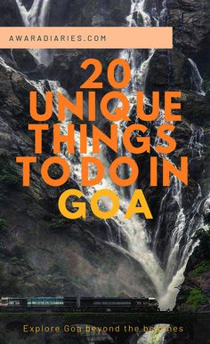 There's more to Goa than just beaches and beer! Check out these 20 unique things to do in Goa, India and make the most of your vacation trying these fun activities. india 20 Unique Things To Do In Goa, India Goa Travel, India Travel Guide, Travel Destinations Beach, Places To Travel, Beach Travel, India Destinations, Paris Travel, Travel Tips, Goa India
