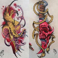 Illustrative Tattoos Knife In Hand — Hand Tattoos Design Grey Ink Tattoos, Body Art Tattoos, Hand Tattoos, Sleeve Tattoos, Arm Tattoo, Tiger Tattoo Design, Tattoo Designs, Tattoo Sketches, Tattoo Drawings