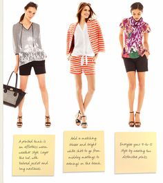 Bare All: How to Wear Shorts to Work - From the Desk of Ann