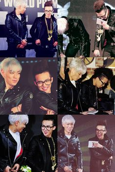 GD AND TOP. So cute!