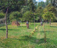 Camille Pissarro - In the Garden of Eragny, 1896
