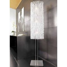 "Flow Floor Lamp | Lightology Collection at Lightology 68.9""h x 14""w"