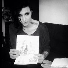 Andy Biersack is an amazing person! I don't care what people say about him! Love you lots Andy! <3 - Laura