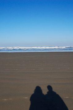 Beach shadows. Cannon Beach, Oregon. Zippertravel.com Digital Edition Sky Full Of Stars, Cannon Beach, Night Skies, Shadows, Oregon, Sunset, Digital, Water, Outdoor