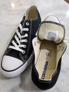 96999f188ce400 Converse All Star Chuck Taylor Canvas Shoes Low Top All Sizes