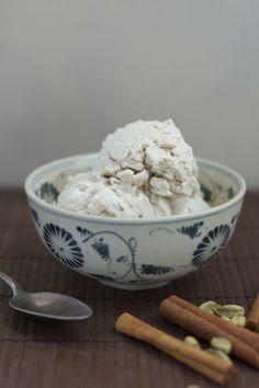 Chai Coconut Ice Cream // thenourishedkitchen