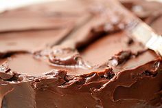 Gluten Free Devil's Food Cake with Chocolate Frosting  @G-Free Foodie - Gluten Free  #GlutenFree