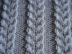 To use these cable knitting stitch patterns you will need to learn some more advanced knitting techniques, such as how to use a cable needle Types Of Knitting Stitches, Cable Knitting Patterns, Knitting Stiches, Arm Knitting, Knitting Designs, Knit Patterns, Crochet Stitches, Stitch Patterns, Knit Or Crochet