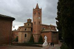 Toscana Abbazia di Monte Oliveto Maggiore #TuscanyAgriturismoGiratola