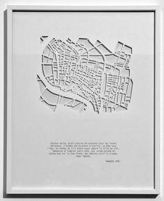 Armelle Caron - les villes en creux