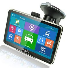 Xgody 5 Inch Car Truck GPS Navigation Sat Nav Touch Screen Built-in 4GB 128MB RAM FM MP3 MP4 Lifetime Map WinCE6.0. For product info go to:  https://www.caraccessoriesonlinemarket.com/xgody-5-inch-car-truck-gps-navigation-sat-nav-touch-screen-built-in-4gb-128mb-ram-fm-mp3-mp4-lifetime-map-wince6-0/
