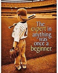 """The expert in anything was once a beginner."" #leadership #quotes #career"