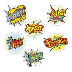 Superhero Faith Cutouts - OrientalTrading.com