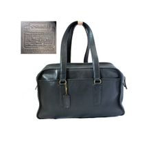 XL 1970s COACH Duffel Made in New York City / by CashinCarry, $175.00