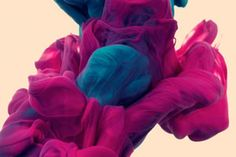There has definitely been a surgence of underwater photography, and even a few series of ink shot underwater. But Italian artist, Alberto Seveso (who created the Lego man surfing atop ink underwater series), has just posted this new series, A Due Colori, featuring these stunning captures of various ink colors interacting and interweaving with each other underwater.