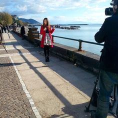 #MichelaCoppa Michela Coppa: Live..... From Salerno #rete4 #ricetteallitaliana with @vestitiusciamo look