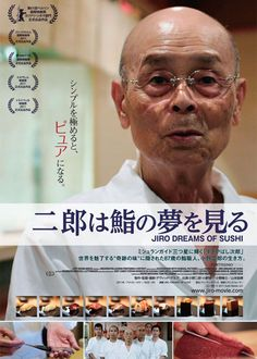 Watch this before you go to Tokyo, you'll be drooling for sushi! 3 Michelin-starred sushi chef in Ginza, Tokyo. 映画『二郎は鮨の夢を見る』  JIRO DREAMS OF SUSHI  (C) 2011 Sushi Movie,LLC
