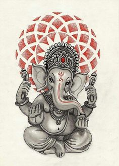 This is a famous painting of Ganesh. He is holding up the world. … Sketches, Art, Croquis, Kunst, Draw, Sketch, Gcse Art, Sketching, Sanat