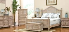 Discover the absolute best coastal bedroom furniture for your beach home. We have beach bedroom sets, dressers, nightstands, headboards, armoires, and daybeds.
