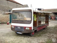 Camion magasin atelier sovam vasp 8m60 1985