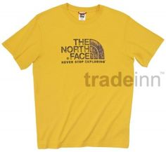 The North Face Rust Tee Taxi Yellow S/s $23.53