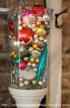Easy Christmas decoration idea