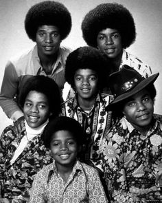 Jackson 5 - Jackie, Jermaine, Marlon, Michael, Randy (#6) and Tito. Went to several concerts and even wrote fan letters!
