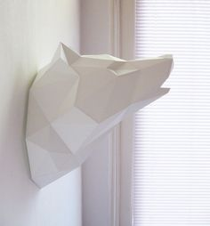 Paper Wolf Folding Kit Pre-order von AssembliShop auf Etsy
