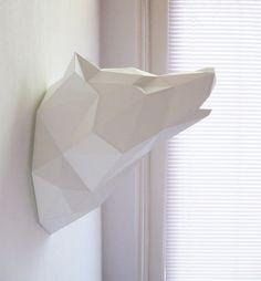 Papel del lobo Kit plegable  pre-orden  por AssembliShop en Etsy