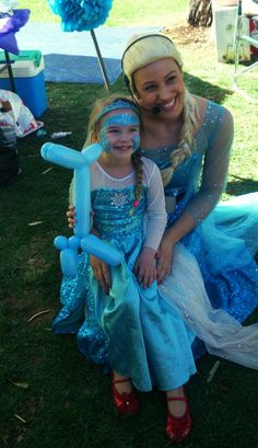 Elsa and Anna party's -performers are available to host your child's party and provide kids entertainment for a  Frozen good time. Parties are available in Adelaide, Melbourne, Perth, Sydney, and Brisbane