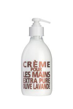 Håndcreme i dispenser, 300 ml. fra Savon de Marseille. www.houseofbk.com