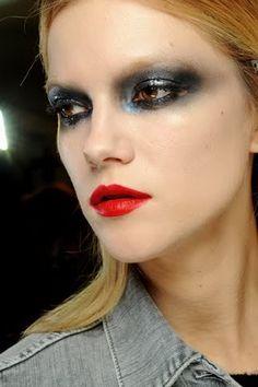 Achieve Runway Makeup Looks! Runway Makeup, Beauty Makeup, Hair Makeup, Hair Beauty, Fashion Show Makeup, Fashion Face Mask, Couture Makeup, Couture Fashion, Cute Faces