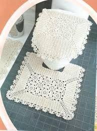 Resultado de imagen para juegos de baño en crochet
