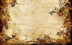 Vintage floral texture Wallpaper