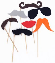 £7.95 - Photo Props - http://www.prezzybox.com/photo-props.aspx #Movember #Moustache