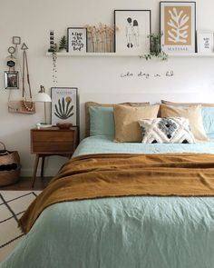 Room Ideas Bedroom, Home Bedroom, Bedroom Decor, Bedrooms, Style Deco, Dream Rooms, My New Room, House Rooms, Cozy House