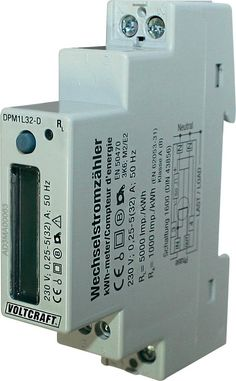 Wechselstromzähler digital 32 A MID-konform: Nein VOLTCRAFT DPM1L32-D Plus Shops, Thing 1, Digital, Counter, Data Logger, Energy Consumption, Tents, Retail Stores